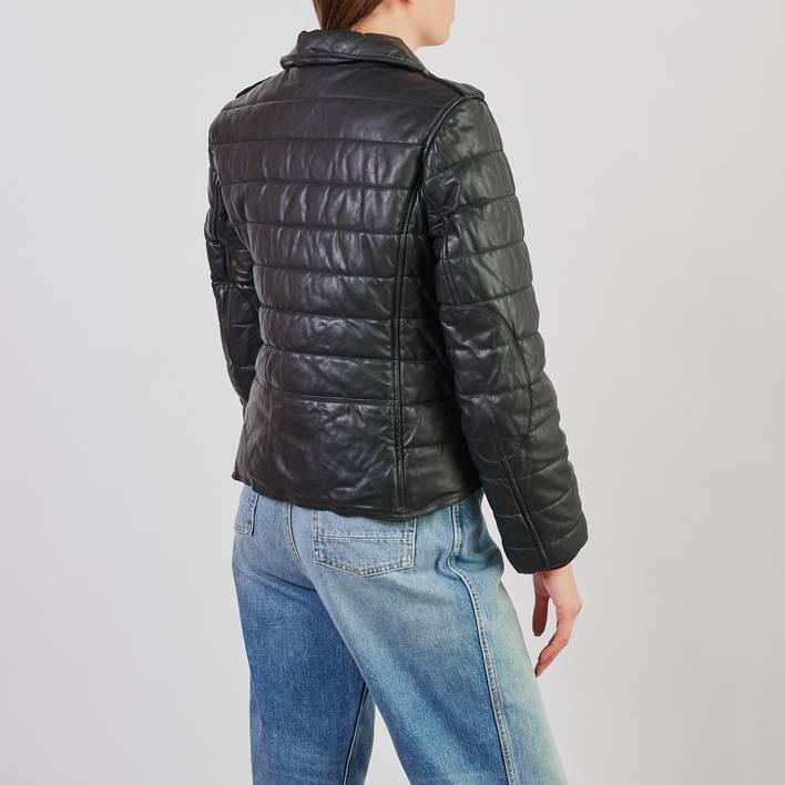 Кожаная куртка H&M x Alexander Wang