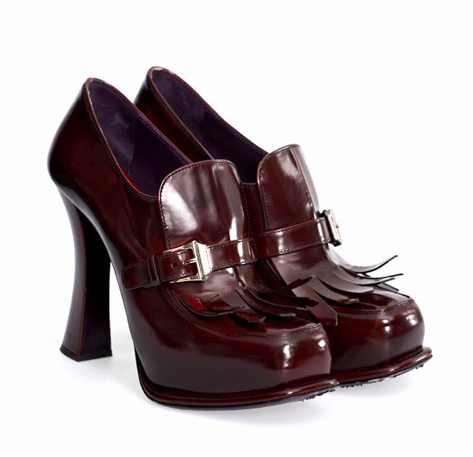 b5d3c9e79dae Купить туфли Prada в Москве с доставкой по цене 13440 рублей ...