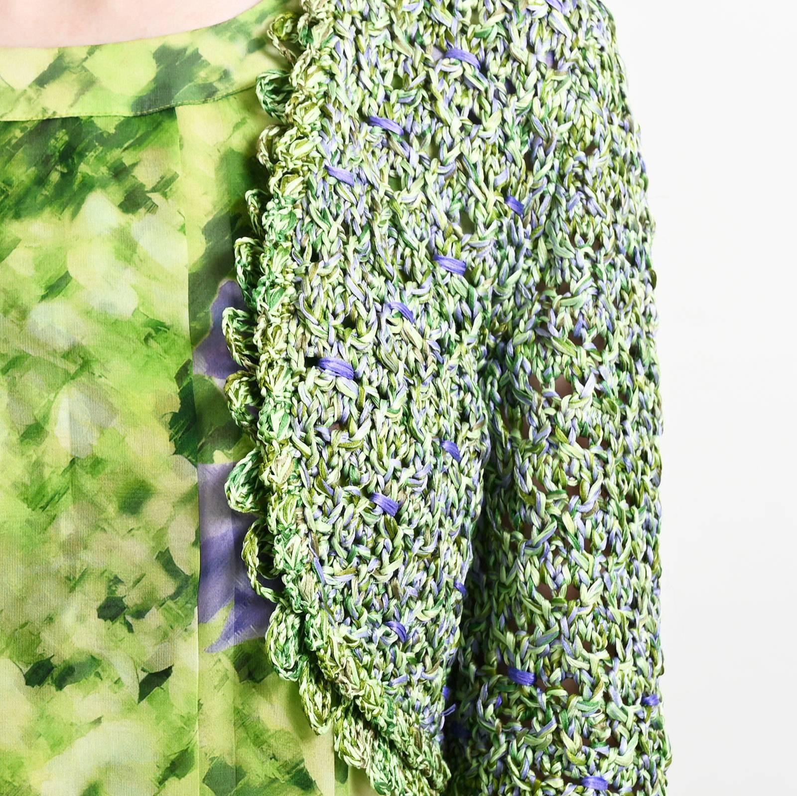 Платье+накидка  Oscar de la Renta