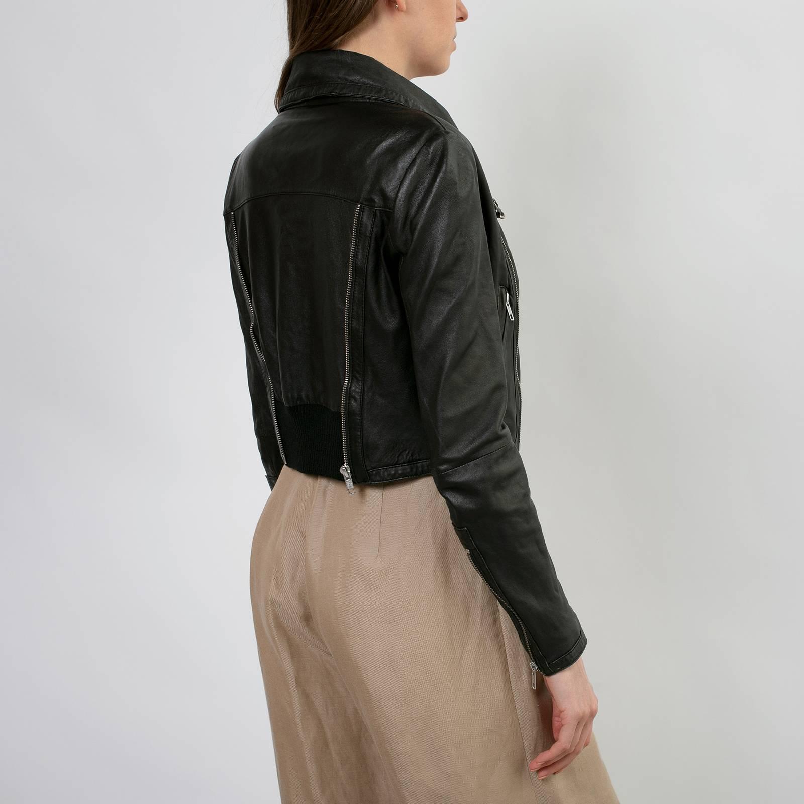 Кожаная куртка By Malene Birger