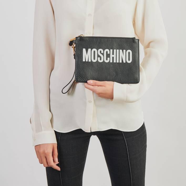 Клатч Moschino