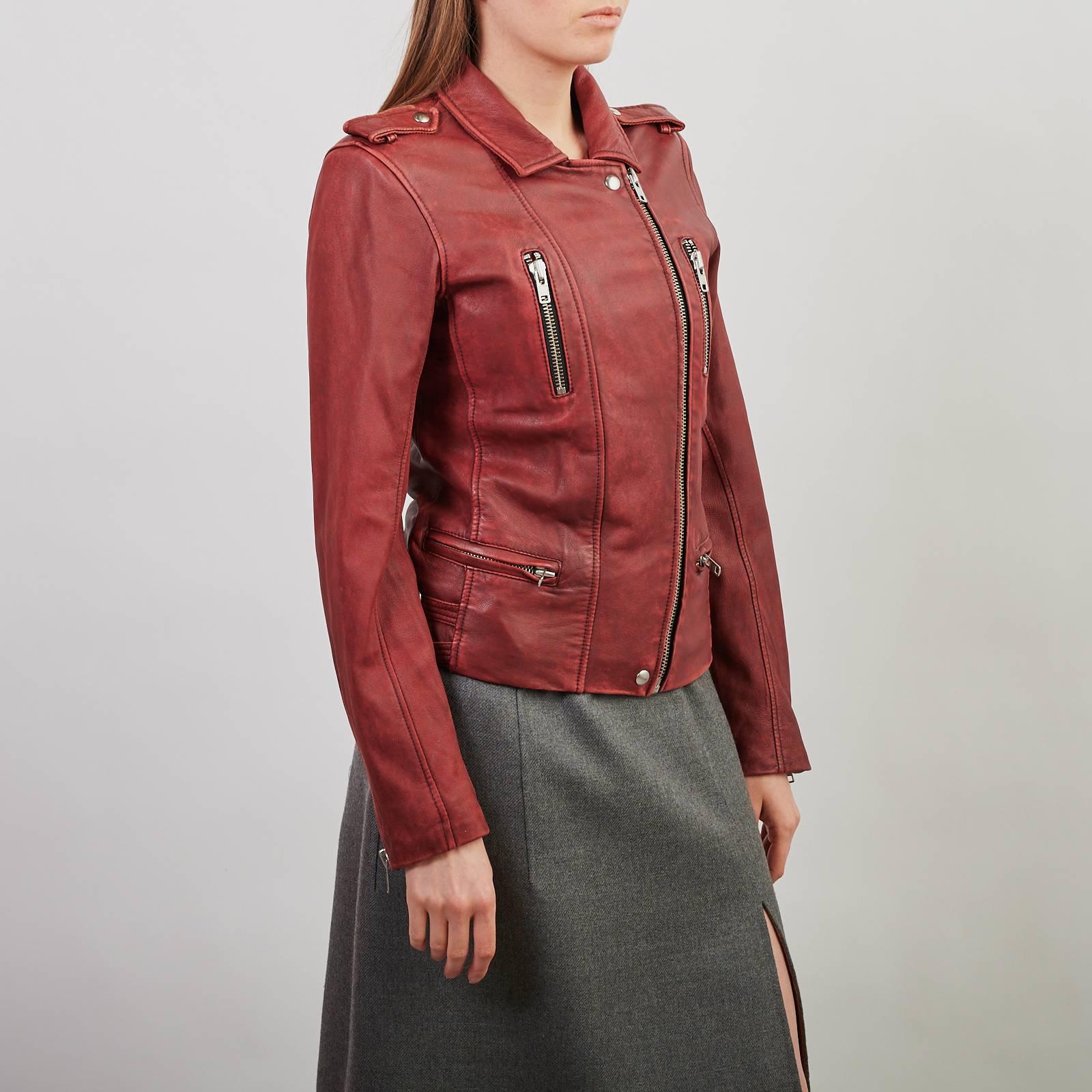 Кожаная куртка IRO