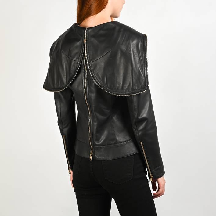 Кожаная куртка  Versace