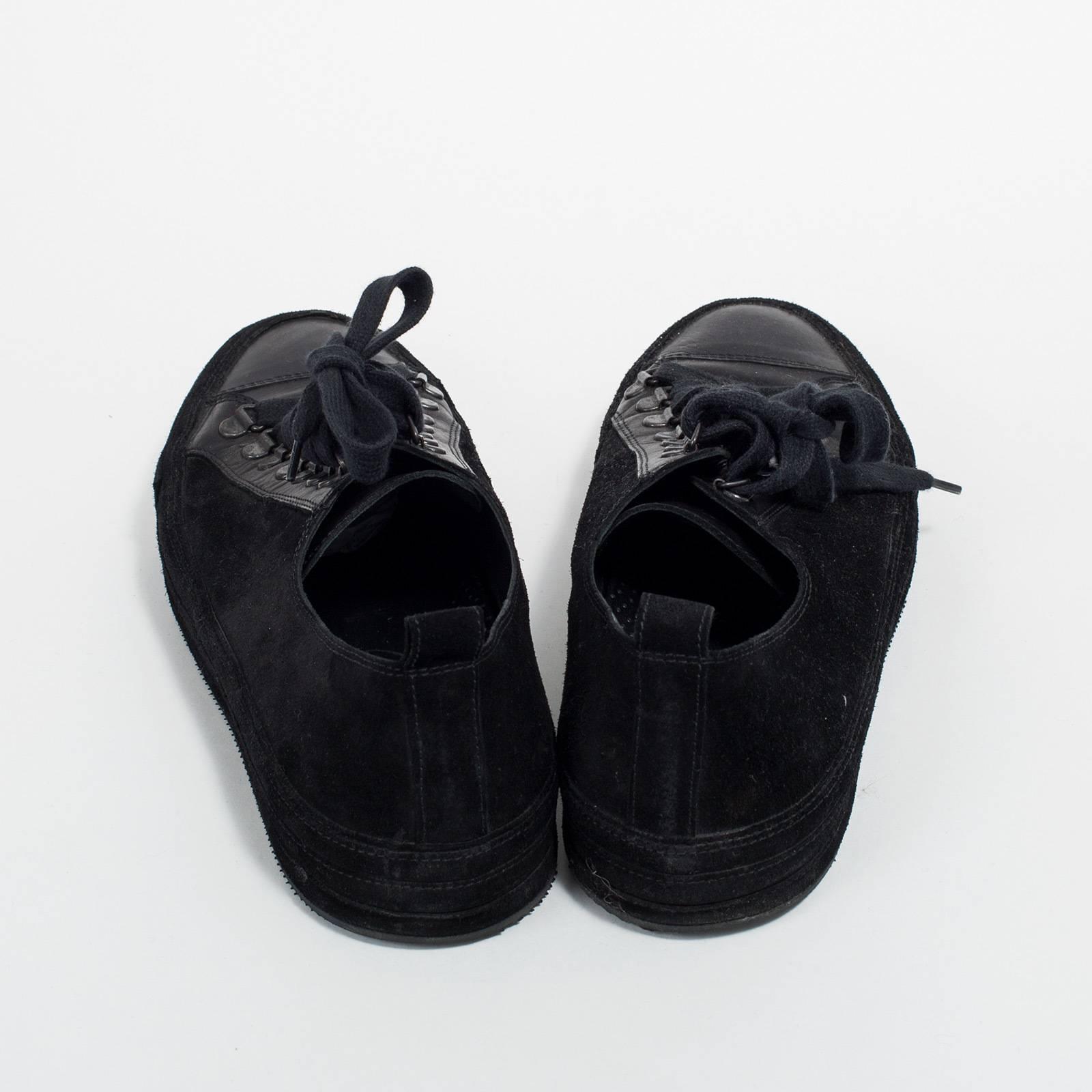 Кроссовки замшевые  Ann Demeulemeester
