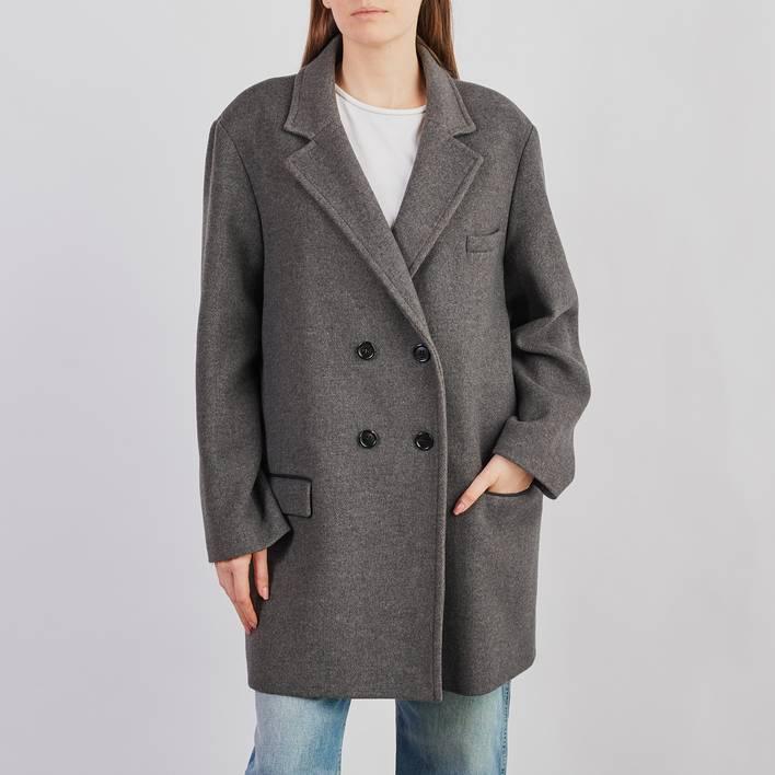 Пальто H&M х Isabel Marant
