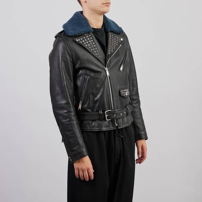Кожаная куртка Sandro