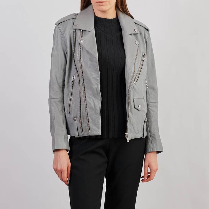 Кожаная куртка Zadig & Voltaire
