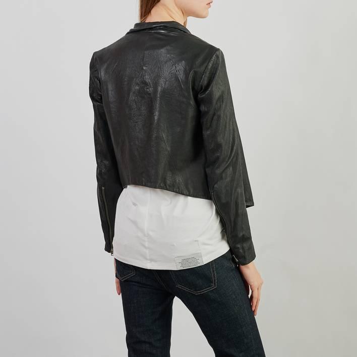 Кожаная куртка Helmut Lang
