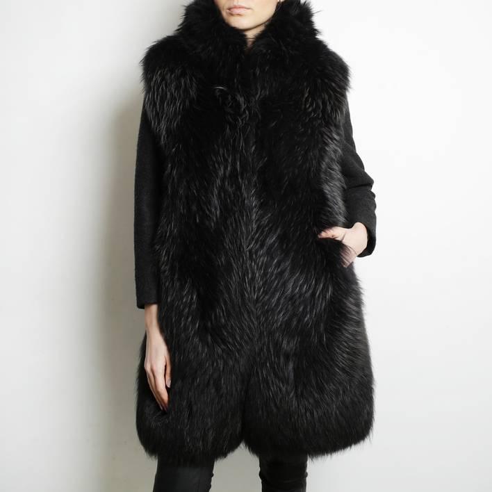 Меховое пальто  Maison Martin Margiela