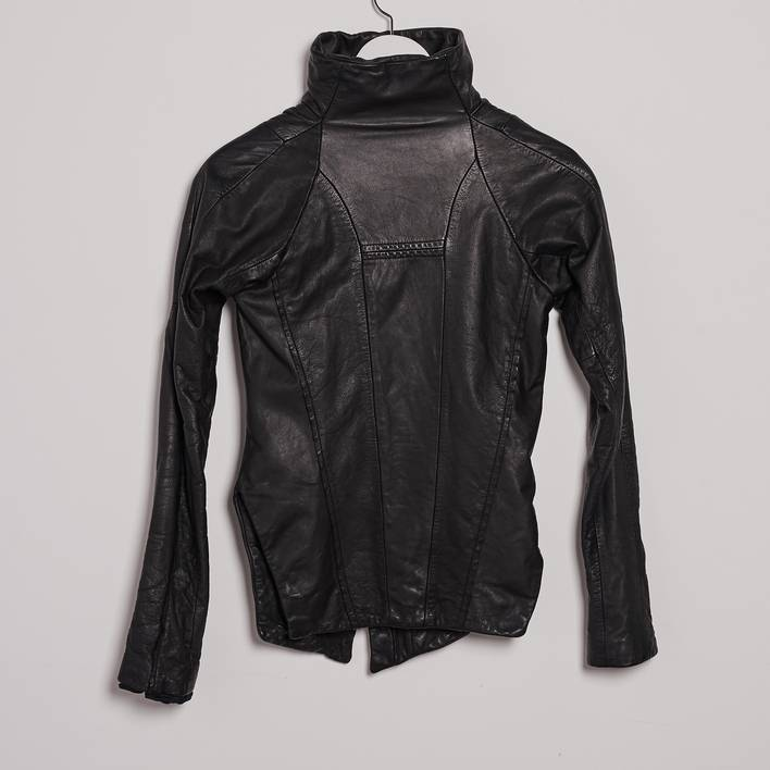 Кожаная куртка Lost & Found