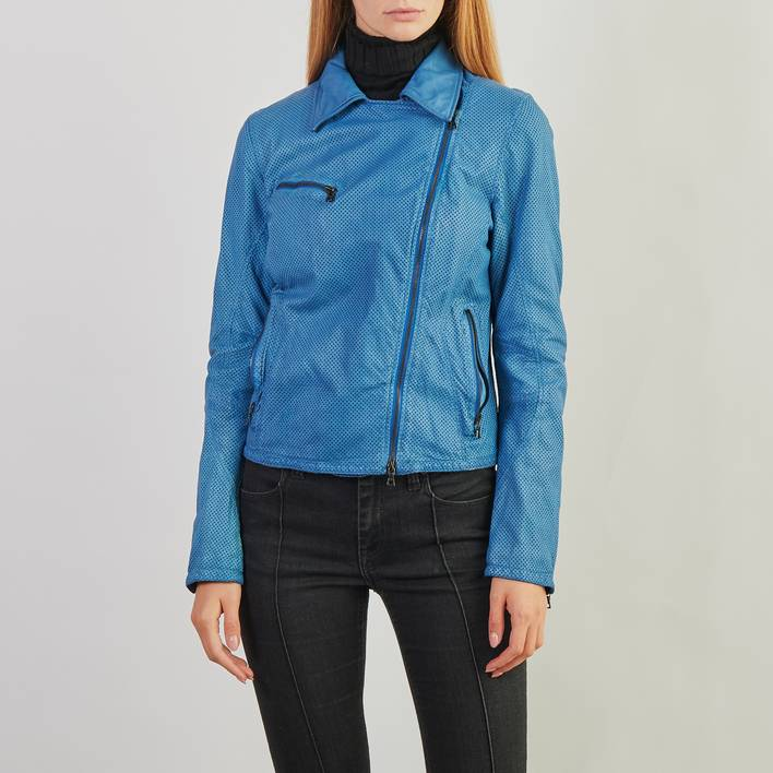 Кожаная куртка DROMe