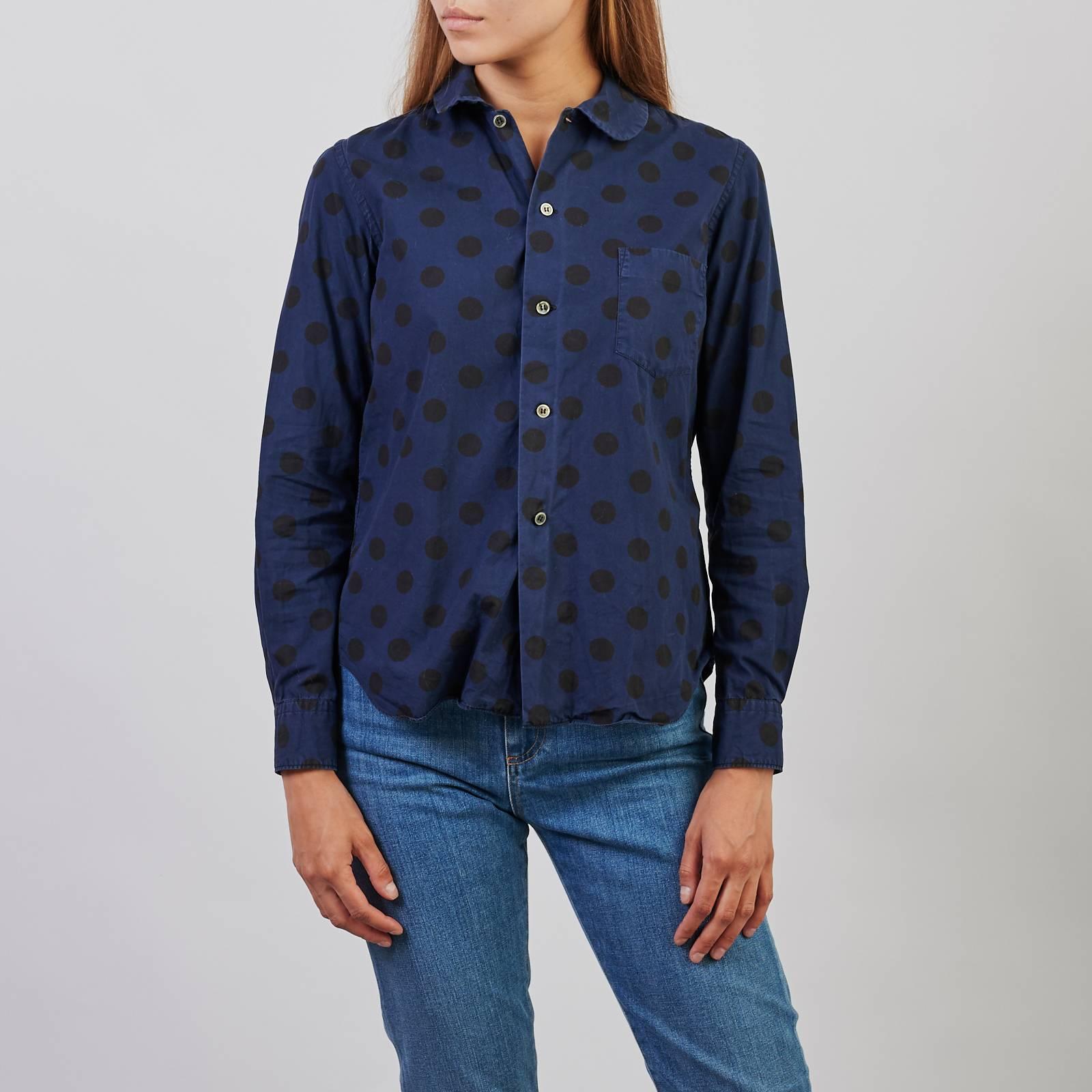 Купить рубашку Comme des Garcons Black в Москве с доставкой по цене 3200 рублей | Second Friend Store