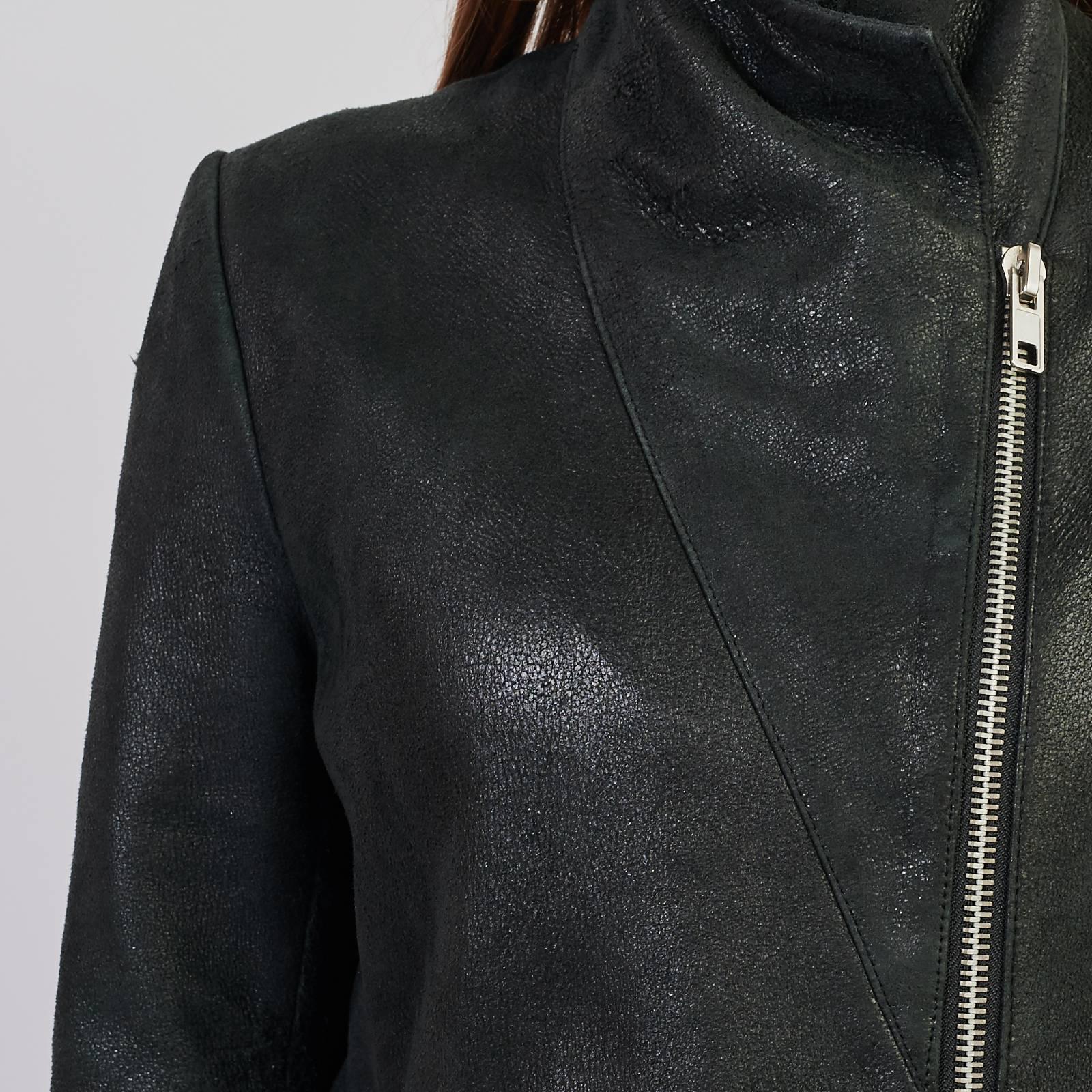 Кожаная куртка Maje