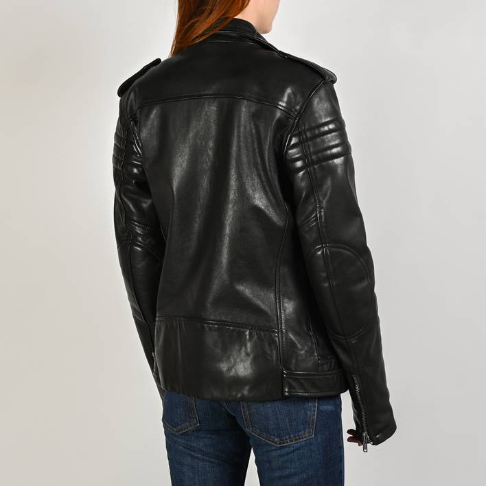 Кожаная куртка  BLK DNM