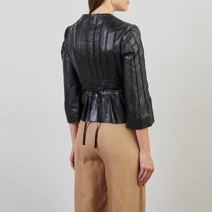 Кожаная куртка Philosophy di Alberta Ferretti