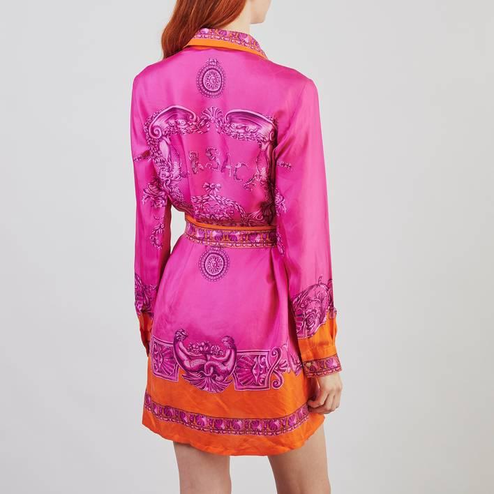 Платье-рубашка Versace