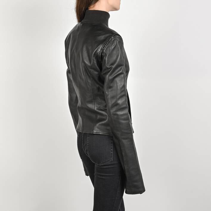 Кожаная куртка  Yves Saint Laurent