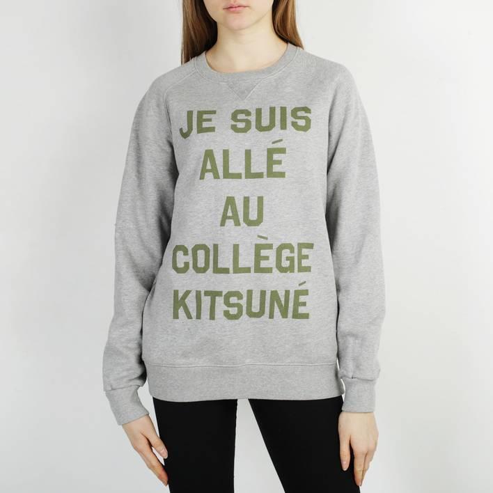Свитшот Maison Kitsuné