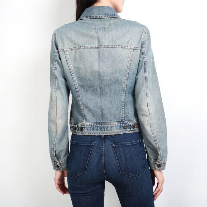 Джинсовая куртка D&G