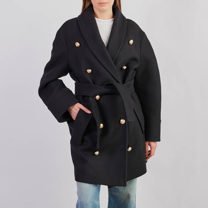 Пальто H&M Balmain