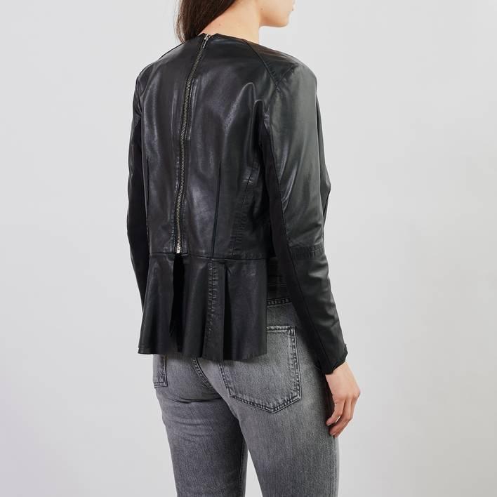 Кожаная куртка Muubaa