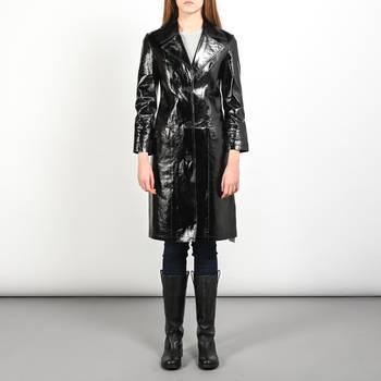 Кожаное пальто All Saints