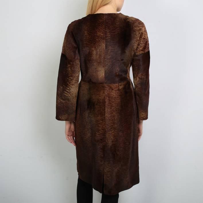 Меховое пальто  Marni