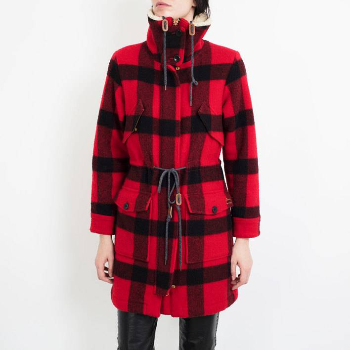Полупальто Woolrich with Abercrombie & Fitch