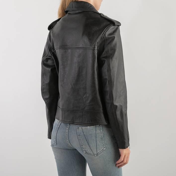 Кожаная куртка McQ by Alexander McQueen