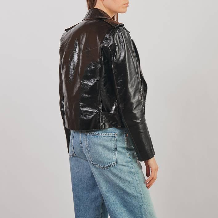 Кожаная куртка All Saints